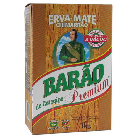 Barao De Cotegipe Premium - Mate Tee aus Brasilien 1kg