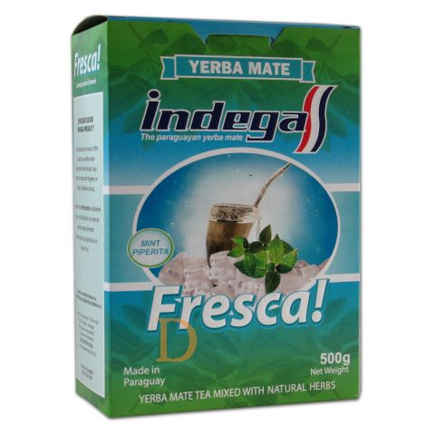 Indega Fresca con Menta  - Mate Tee aus Paraguay 500g