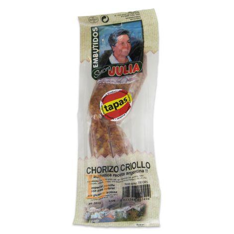 Chorizo CRIOLLO  Señora Julia 200g