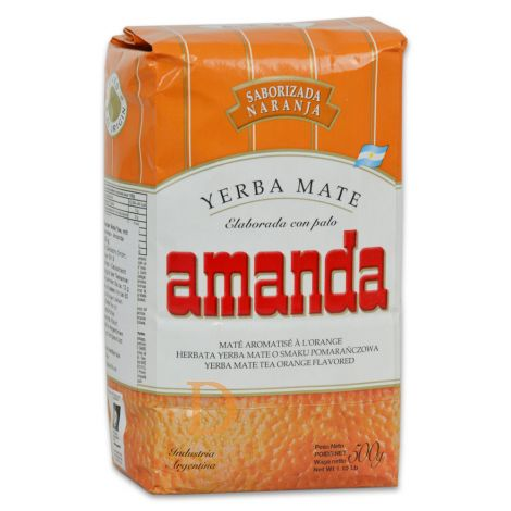 Amanda Naranja - Mate Tee aus Argentinien 500g