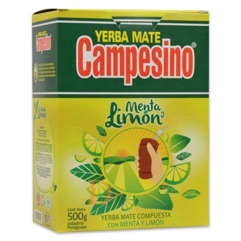 Campesino Menta Limón - Mate Tee aus Paraguay 500g