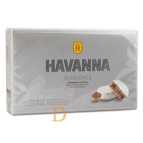 Alfajores Havanna - Merengue Clásico - 12 (Dulce de Leche)