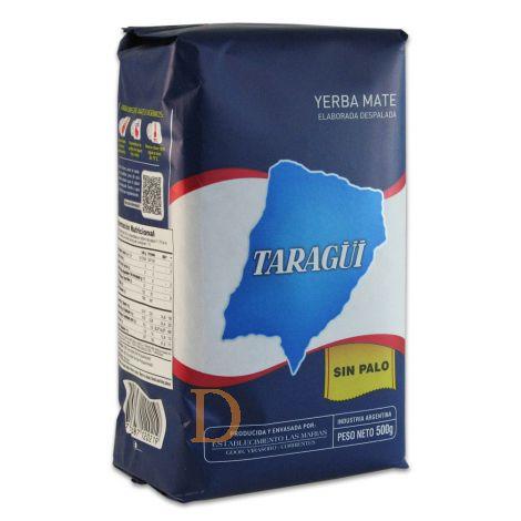 Taragui sin Palo (ohne Stängel) - Mate Tee aus Argentinien 500g