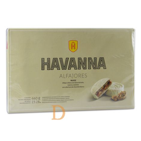 Alfajores Havanna - Nuez - 12