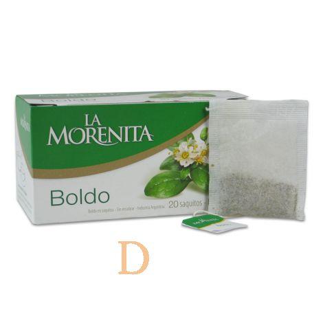 Boldo Tee La Morenita - 20 Teebeutel - aus Argentinien