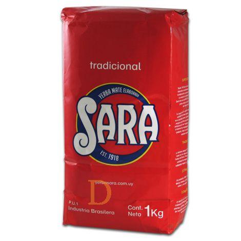 Sara Roja Tradicional Sin Palo (ohne Stängel) - Mate Tee aus Brasilien 1kg