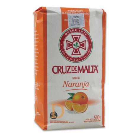 Cruz de Malta - Orange - Mate Tee aus Argentinien 500g