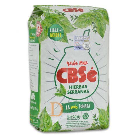 CBSé - Hierbas Serranas - Mate Tee aus Argentinien 500g