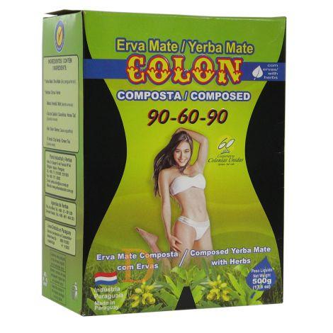 Colon Compuesta (90-60-90) - Mate Tee aus Paraguay 500g