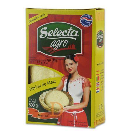 Harina de maíz Selecta 500g - corn flour (vacuum-packed)