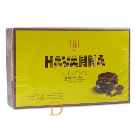 Alfajores Havanna - Chocolate Clásico- 12