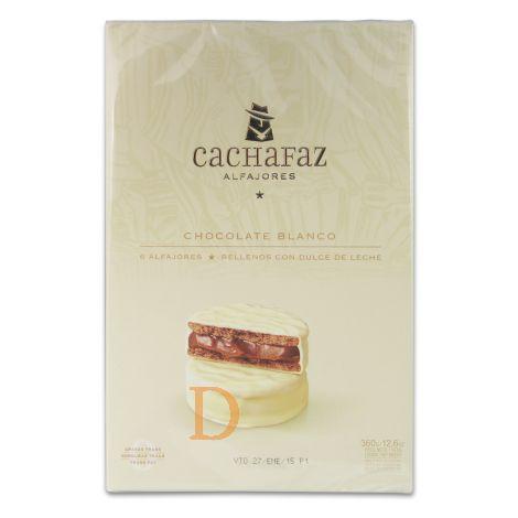 Alfajores Cachafaz - Blanco - 6 (MHD 24.07.2018)
