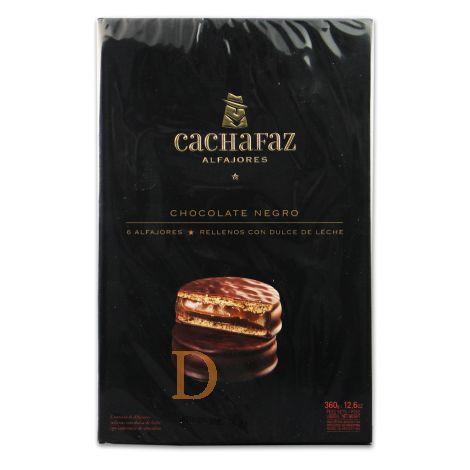 Alfajores Cachafaz - Chocolate - 6
