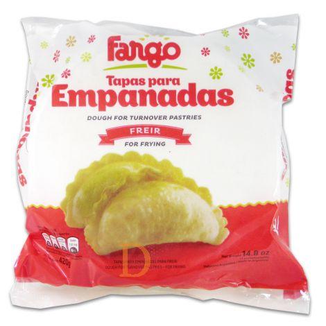 12 * 12 Empanadas Fargo - frittieren - 14 cm (144 Stck)