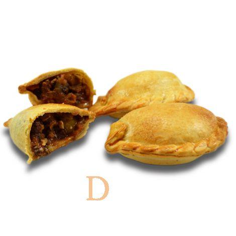 12 Empanadas Delicatino - mit Rindfleisch *HANDGESCHNITTEN*