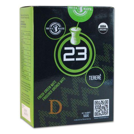 Meta Mate 23 Tereré Organic 500g vacuumverpackt - Mate Tee aus Brasilien
