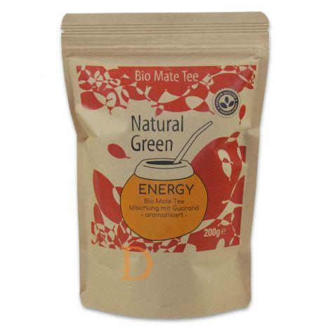 Mate Tee Delicatino Premium - Energy - 200g mit Guaraná und Grapefruitaroma (natürlich und ungeräuchert)
