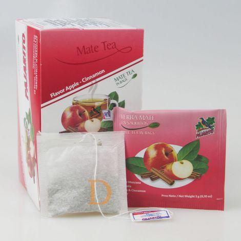 Pajarito 20 Teebeutel  - Apfel und Zimt - Mate Tee aus Paraguay