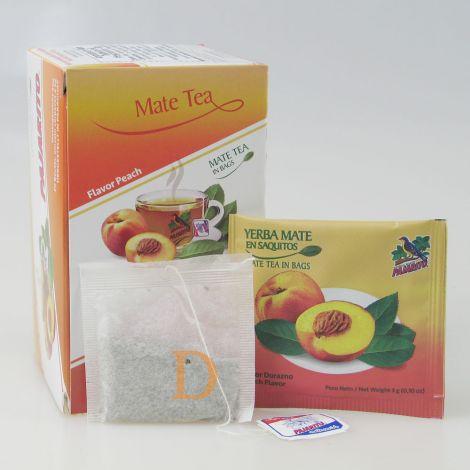 Pajarito 20 Teebeutel - Pfirsich - Mate Tee aus Paraguay