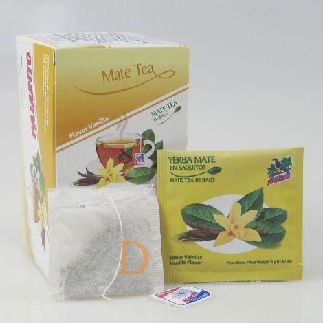 Pajarito 20 Teebeutel - Vanille - Mate Tee aus Paraguay