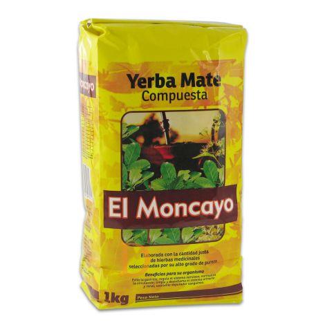 El Moncayo Compuesta - Mate Tee aus Uruguay 1kg