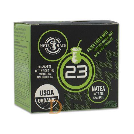 Bio Mate Tee - META MATE 23 - 10 Teebeutel - Mate Tee aus Brasilien