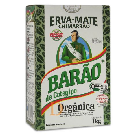 Barao De Cotegipe Organica - Mate Tee aus Brasilien 1kg