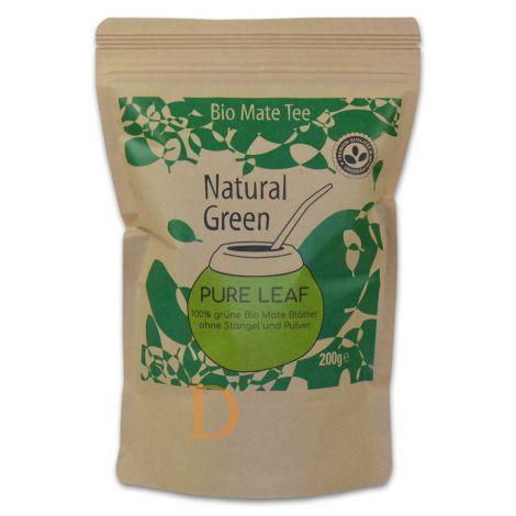 Bio Mate Tee Delicatino Premium - Natural Green - 200g (natürlich und ungeräuchert)