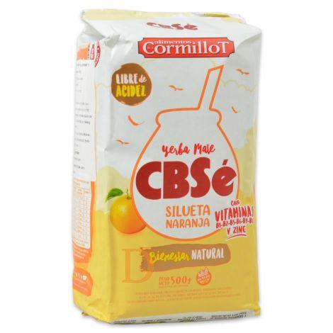 CBSé - Silueta Naranja/Orange - Mate Tee aus Argentinien 500g