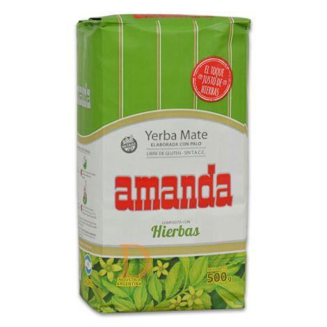 Amanda Compuesta Hierbas - Mate Tee aus Argentinien 500g