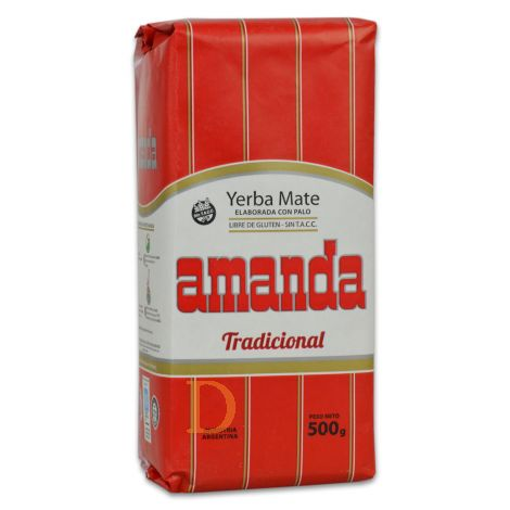Amanda - Mate Tee aus Argentinien 500g