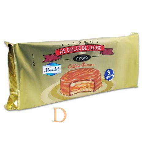 Alfajores Mardel Chocolate 3 (150g)