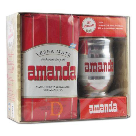 Mate Set Amanda Holz - Mate Tee aus Argentinien