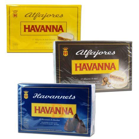 3 x Havanna Mix 12 (1x Havannets Choco, 1x Alf. Nuez, 1x Alf. DD
