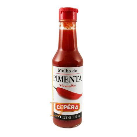 Molho Pimienta - 150ml, Rote Chilisoße