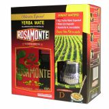 Mate Set Rosamonte Holz - Mate Tee aus Argentinien 1kg