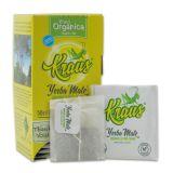 Kraus Mate Organica - 25 Teebeutel - Organisch und Fair Trade (ungeräuchert) - Mate Tee aus Argentinien