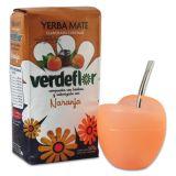 Kombi-Angebot Mate Mateo Vetro orange + Verdeflor Naranja 500g